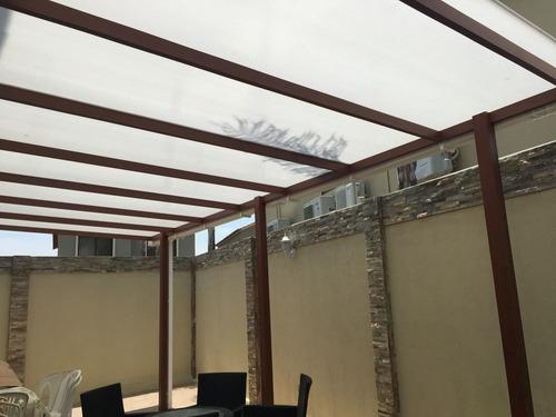 policarbonato cubiertas domos pergolas techos estructuras