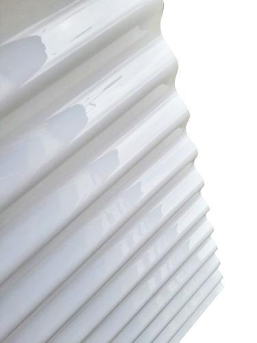 policarbonato ondulado tipo zinc, eternit y duratecho