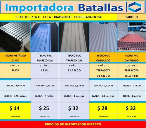 policarbonato por metros teja pvc española techo acrilico a1