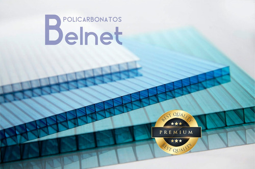 policarbonato techos cocheras 6mm alveolar 1,05 x1,45mts