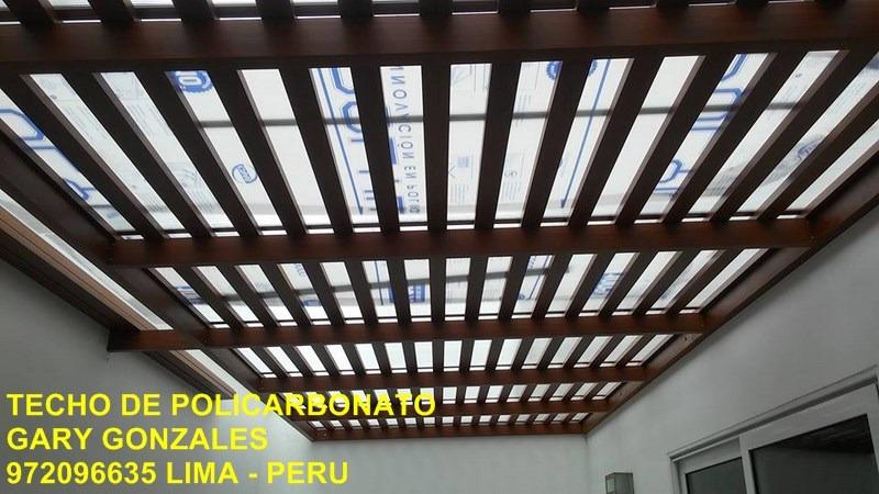 Policarbonato techos corredizos 972096635 inst - Techos de policarbonato precios ...