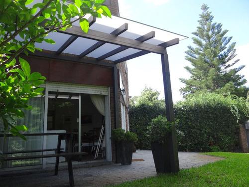 policarbonato - techos - pérgolas - decks, portones