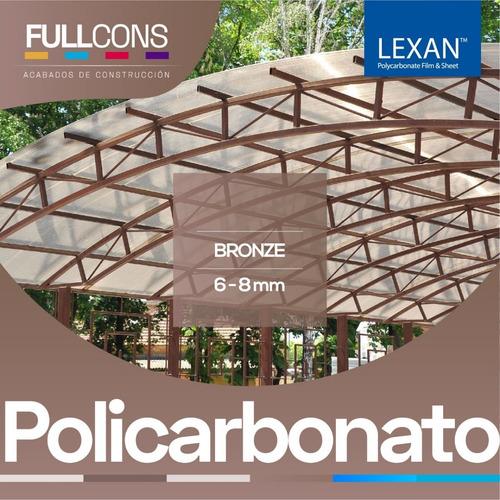 policarbonato translucido - techos - cubiertas- pérgolas