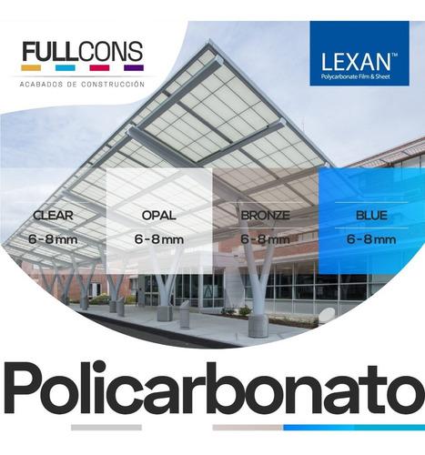 policarbonato translucido tejas pvc alucobond