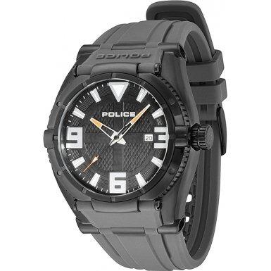 police 13093jsb-02b mens black ip raptor watch