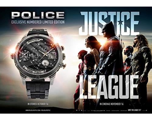 police policía hombres multi dial reloj