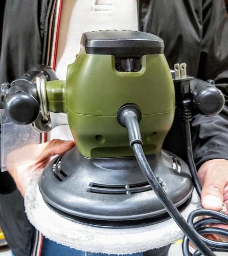 polichadora auto orbital 9 1/2 pulgadas  bauker