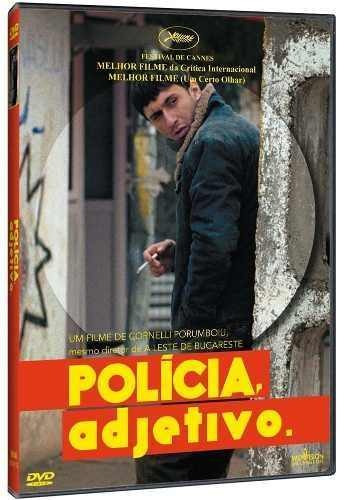 polícia, adjetivo - dvd-  cinema romeno