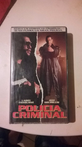 policia criminal larry fishburne jeff goldblum accion vhs