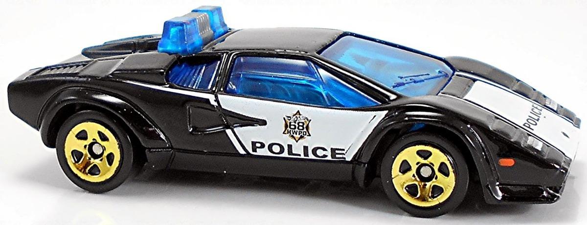 Policia Lamborghini Countach Police Car Hot Wheels Fyc79 75 00