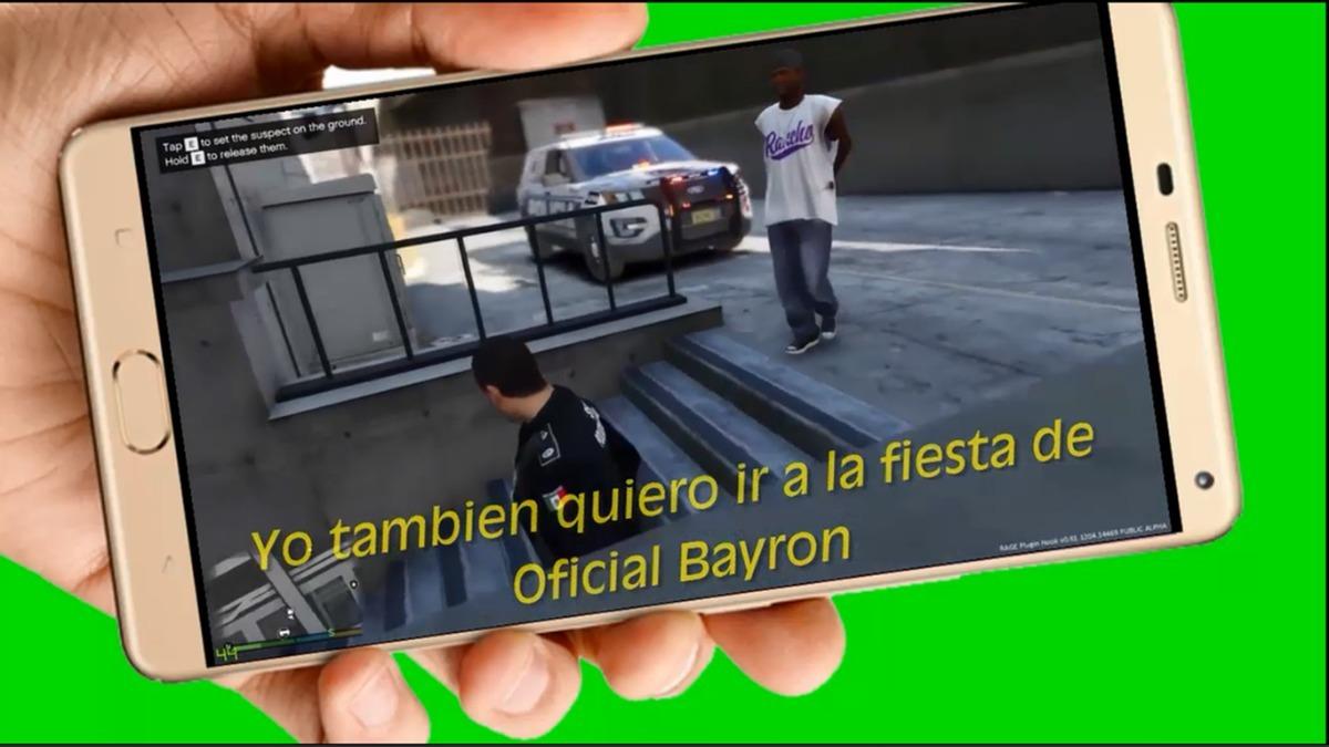 Policia Video Tarjeta Invitacion Cumpleanos Whatsapp Digital 298