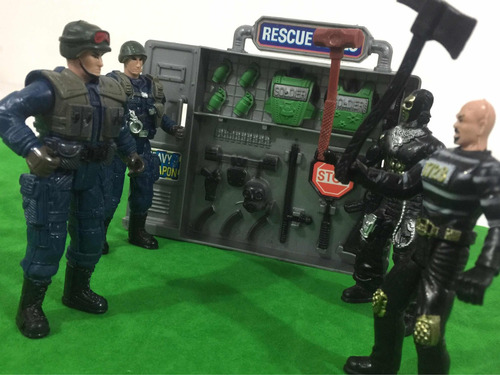 policías vs criminales operacion tactica de asalto juguete