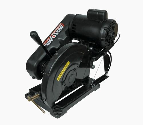 policorte serra rápida p/ ferro monof 1cv sc-100 motomil