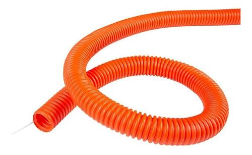 poliducto corrugado con guía de nylon 3/4  - rollo 50 m