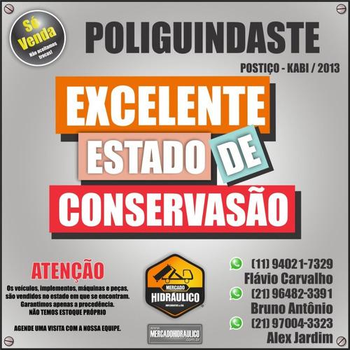 poliguindaste postiço - kabi / 2013