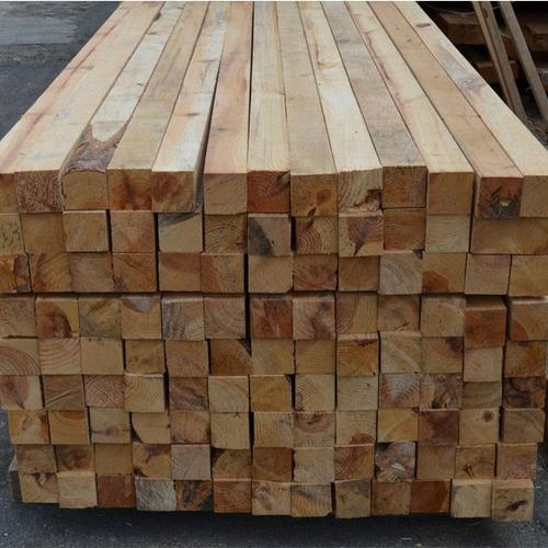 polin de madera para construcción