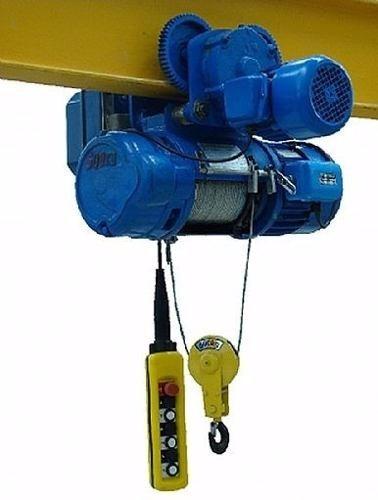 polipasto electrico con trolley 2 ton, 6 metros