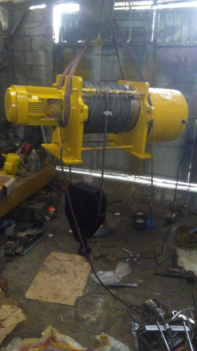 polipasto eléctrico de cable de 5 toneladas modelo fijo
