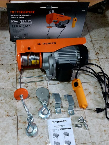 polipasto eléctrico para 1000 kg  + envio gratis