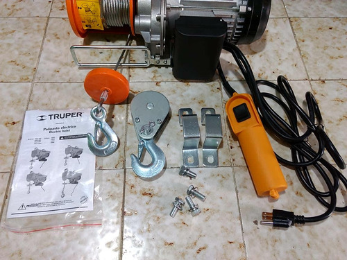 polipasto eléctrico para  800  kg  + envio gratis