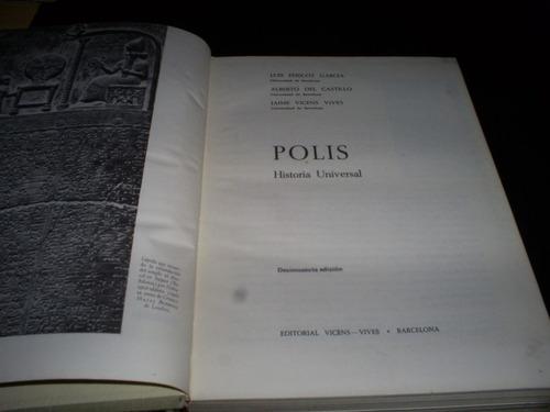 polis, historia universal / pericot, castillo, vicens