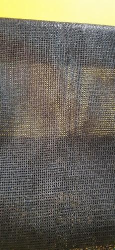 polisombra negra 80%   x 4 mts ancho