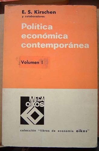 politica economica contemporanea, e. s. kirchen