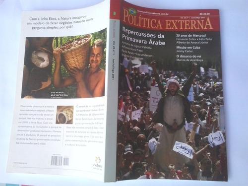 política externa  vol. 20 nº 1 jun/jul/ago 2011
