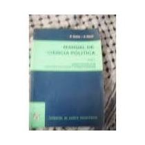 Manual De Ciencias Politicas Tomo Ii Abdala-maciel Fcu