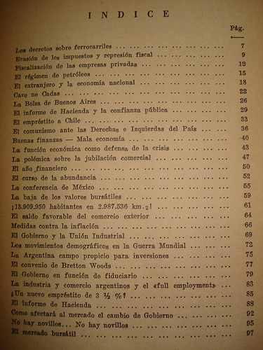 política y economía argentinas 1942-1946