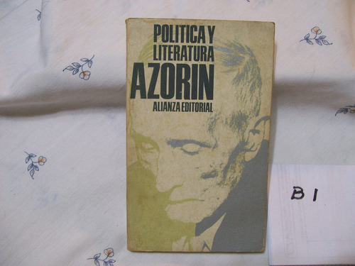 politica y literatura azorin
