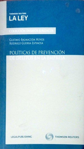 políticas de prevención de delitos en la empre/green libros
