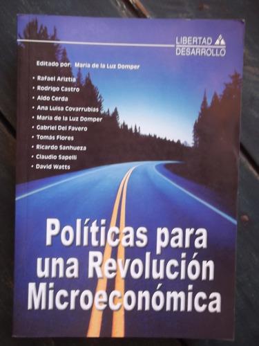 políticas para una revolución microeconómica maría domper