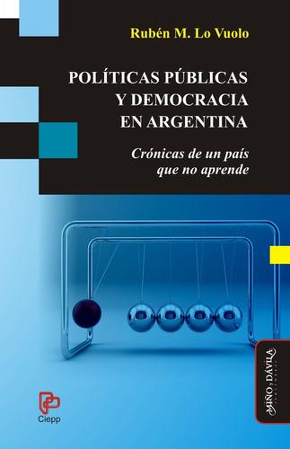 políticas públicas y democracia en arg rubén lo vuolo (myd)