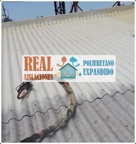 poliuretano expandido aislaciones en techos, paredes y otros