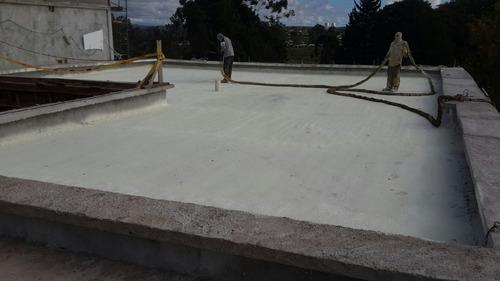 poliuretano expandido aislante termico impermeable