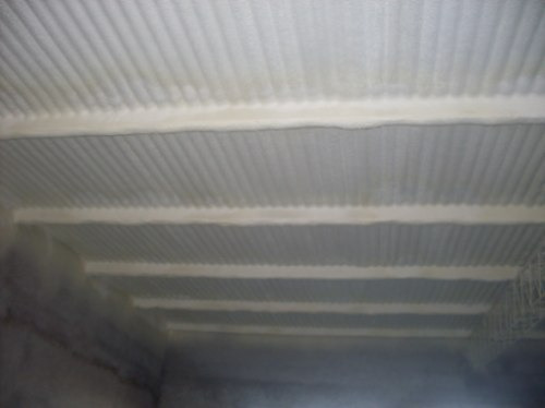 poliuretano expandido in situ - aislacion termica -hidrofuga