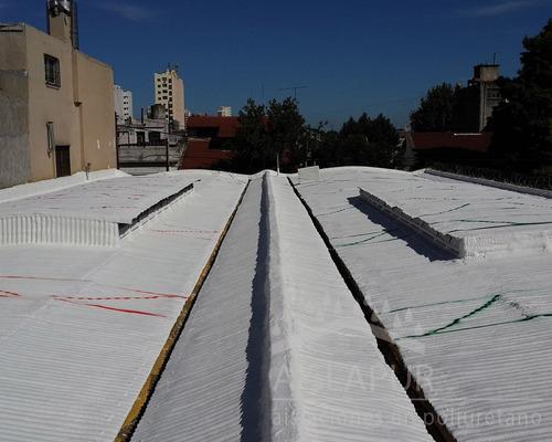 poliuretano expandido in situ  aislación térmica - hidrófuga