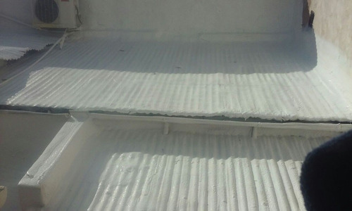 poliuretano proyectado