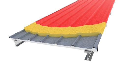 poliuretano proyectado celda cerrada para losa radiante