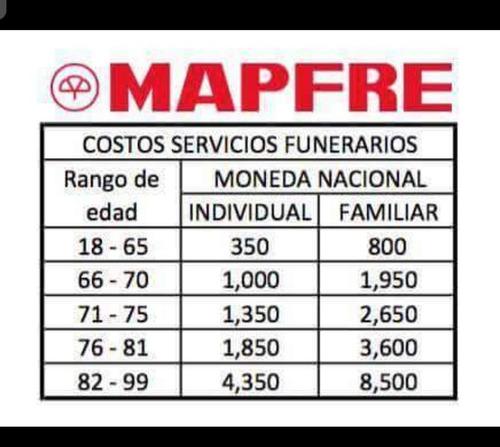 poliza servicios funerarios