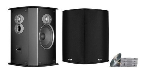 polk audio fxi a6 altavoces surround (par, negro)