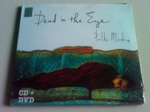 polka madre dead in the eye cd+dvd nuevo cerrado nacional