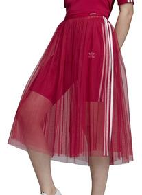 e7be9498e Pollera adidas Originals Moda Skirt Tulle Mujer Ob/bl