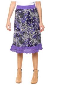 b08e09475 Maxi Polleras Plisadas - Ropa y Accesorios de Mujer Violeta en ...
