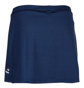a30d6002a Pollera Con Calza Topper Mujer Azul