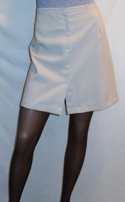 5a5c4c361 Pollera Corta Vestir Secretaria Yessica Tall 44 Cintura 84cm