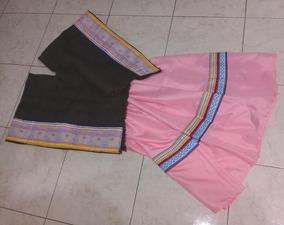 a8f2fc850 Pollera Coya Con Poncho Disfraz