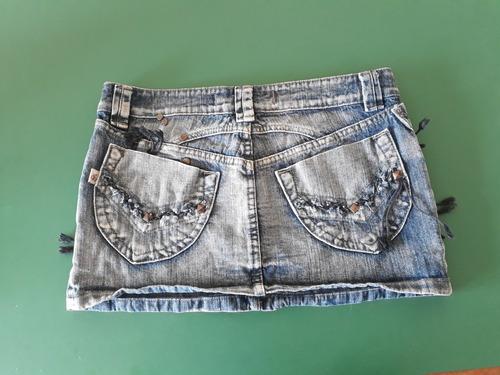 pollera de jean