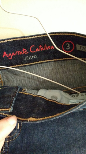 pollera de jean agarrate catalina